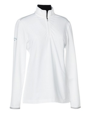 Ladies Mock Pullover with 1/4 Zip