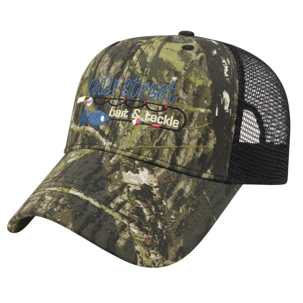 dc24a0eef Buy Customizable Solid Color Mesh Back Camo Cap