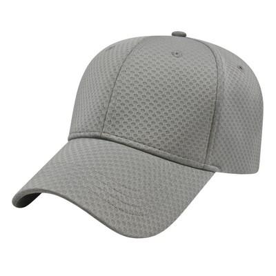 Custom Soft Textured Stretch-Fit Performance Cap