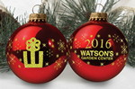 """Picture of 3 1/4"""" Glass Ball Ornament"""