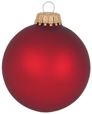 "2 5/8"" Glass Ball Ornament - Full Color"