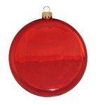 "Picture of 3 1/4"" Glass Disc Ornament"
