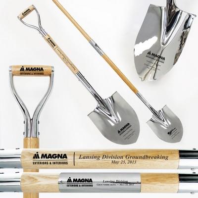 Traditional Chrome Ceremonial Shovel