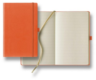 Tucson Medium Ivory Journal with Pen Loop