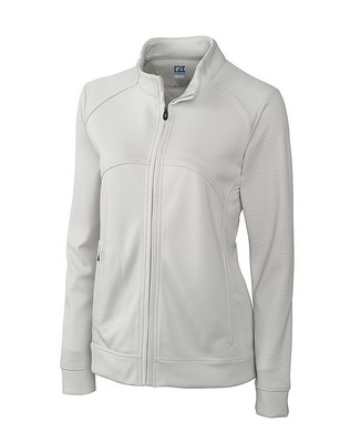Ladies' CB DryTec Edge Full Zip Sweater