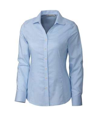 Ladies' Epic Easy Care Tattersall Button-Up Shirt