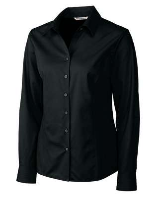 Ladies' Epic Easy Care Fine Twill Long Sleeve Button-Up Shirt