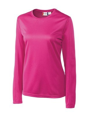 Ladies Clique Long Sleeve Ice Tee Shirt