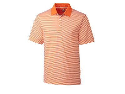 CB Men's Big & Tall DryTec Trevor Stripe Short Sleeve Polo