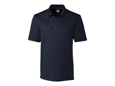 Men's Big & Tall Cutter & Buck DryTec Hamden Jacquard Polo