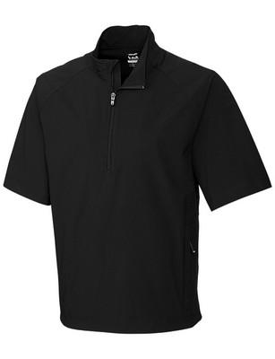 Cutter & Buck Men's WeatherTec Summit Half-Zip Short Sleeve Jacket