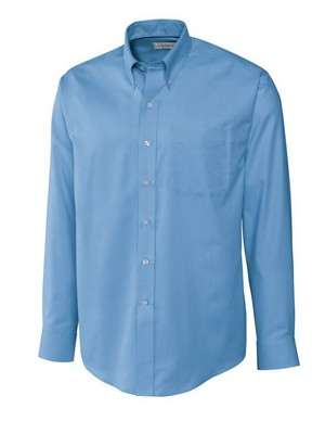 Men's Epic Easy Care Nailshead Long Sleeve Button-Up Shirt