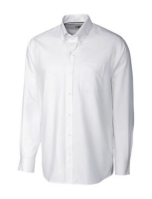 Men's L/S Tailored Fit Tine Twill