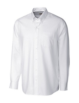 Cutter & Buck Men's Long Sleeve Easy Care Fine Twill Tailored Fit Shirts