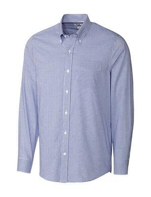 Cutter & Buck Men's  Easy Care Tailored Tattersall Shirt