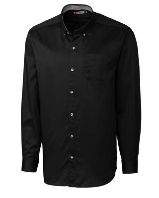 Clique Bergen Men's Long Sleeve Stain Resistant Twill Shirt