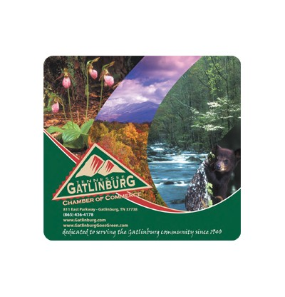 """ReTreads 7.5""""x8""""x3/32"""" Recycled Mouse Pad"""