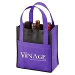 Picture of Imprinted Toscana Six Bottle Non-Woven Wine Tote