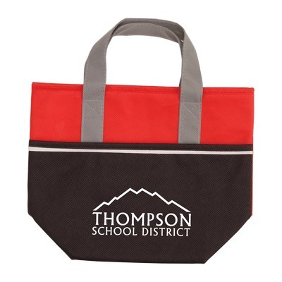 Imprinted Non-Woven Carry-It Cooler Tote