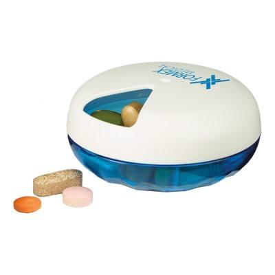 Logo Printed 3 Compartment Vitamin/Pill Case