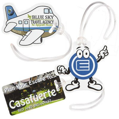 Promotional Custom Luggage Tag