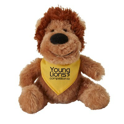 Customisable Fuzzy Friends Lion