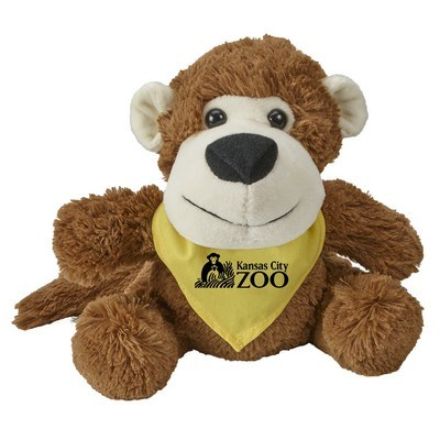 Customised Fuzzy Friends Monkey