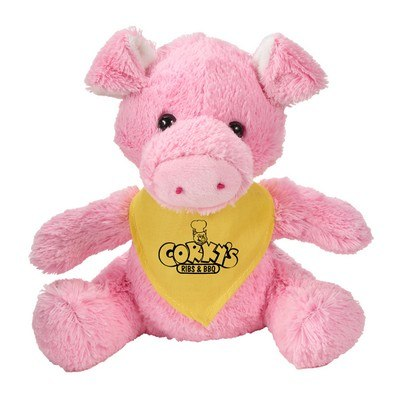 Customisable Fuzzy Friends Pig
