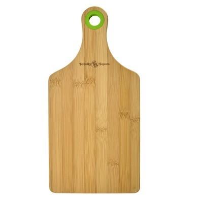 Customized Bamboo Cheese Board W/Silicone Ring