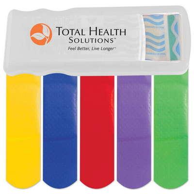 Bandage Dispenser with Color Bandages