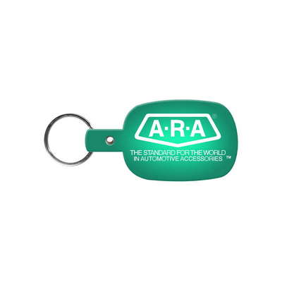 Round Rectangle Flexible Key-Tag