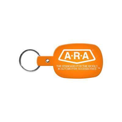 Round Rectangle Flexible Key-Tag