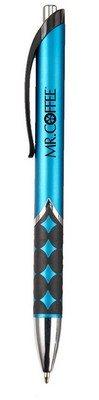 Santa Cruz Ballpoint Pen with Rubber Grip