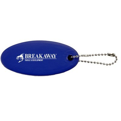 Oval Floater Keytag