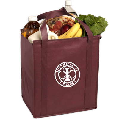 Insulated Large Non-Woven Grocery Tote