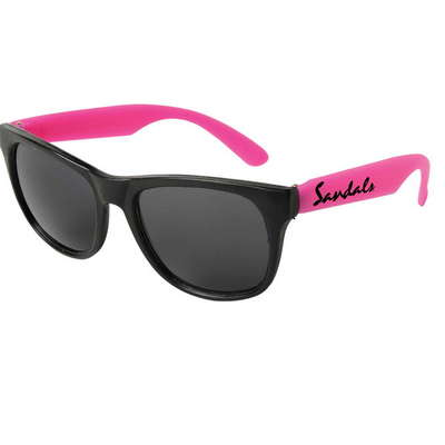 Neon Sunglasses with Black Frame