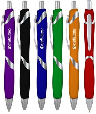Accent B Plastic Click Pen