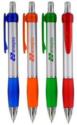 Sydney S Colored Barrel Click Pen