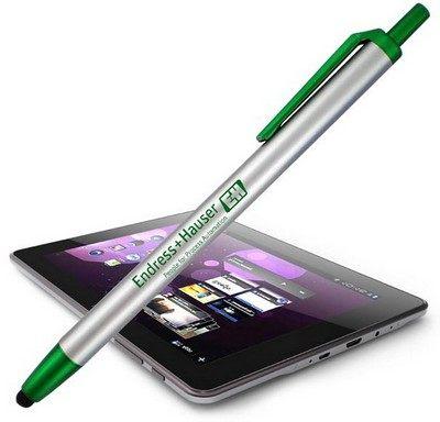 Orlando Stylus with Retractable Ballpoint Pen