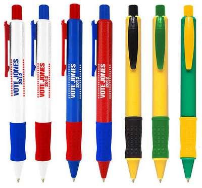 US-1 Colored Barrel Click Pen
