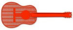 Picture of Large Guitar Fly Swatter