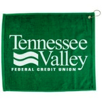 "Picture of 15"" x 18"" Hmmed Color Golf Towel"