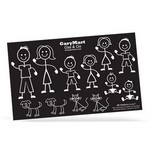 "Picture of My STICKable Family 6""x10"""