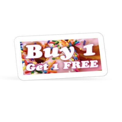 """1"""" x 2"""" Quick & Colorful Sheeted Labels"""