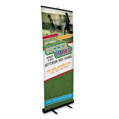 Rectractable Banner Stand