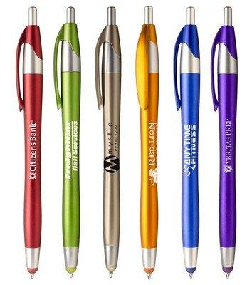Javalina Spring Stylus Retractable Ballpoint Pen