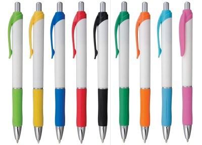 Customisable Carico Click Metallic Stylus Ballpoint Pen