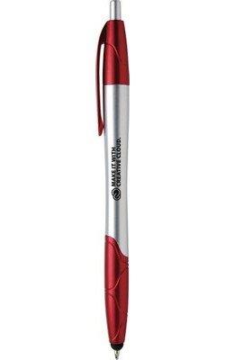 Janita Chrome Stylus Retractable Ballpoint Pen