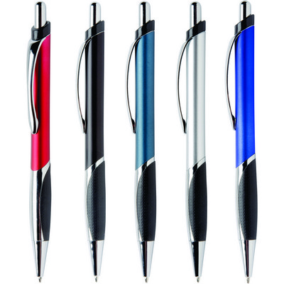 Personalised Chillex Click Metallic Stylus Ballpoint Pen