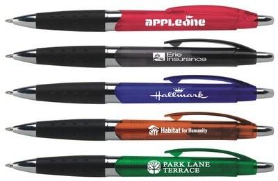 Customisable Zumba Click Metallic Stylus Ballpoint Pen